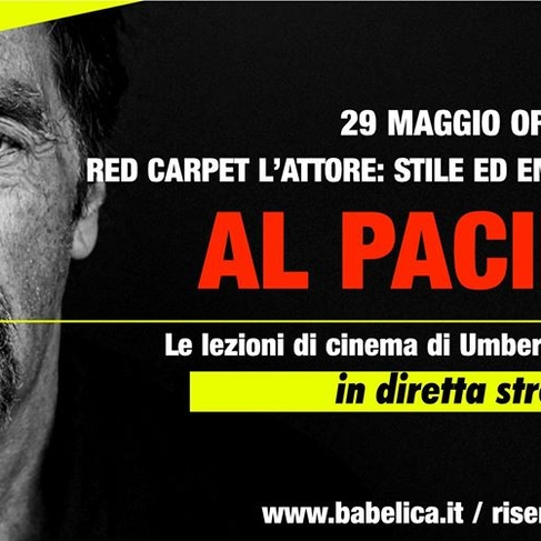 Al Pacino - Lezione di cinema in streaming