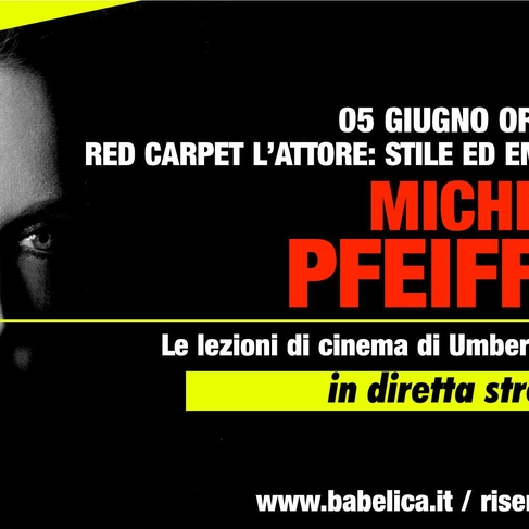 Michelle Pfeiffer - Lezione di cinema in streaming